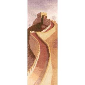 Схема для вышивания Heritage Crafts Great Wall HC855