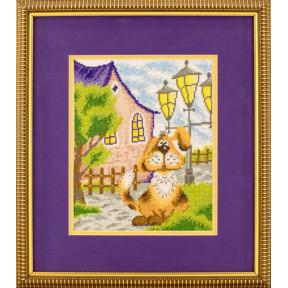 Набор для вышивки крестом Марья-Искусница Рыжий пес 07.002.03