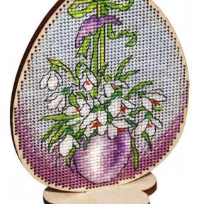 Набор для вышивки крестом Alisena Пасхальная -кролик – на подставке 5506-А