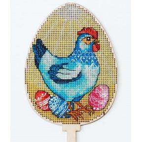 Набор для вышивки крестом Alisena Пасхальная -цыпленок– топер 5511-В