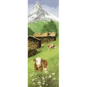 Схема для вышивания Heritage Crafts Alpine Meadow HC524