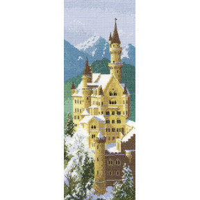 Схема для вышивания Heritage Crafts Neuschwanstein Castle HC620