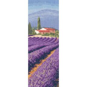 Схема для вышивания Heritage Crafts Lavender Fields HC1247