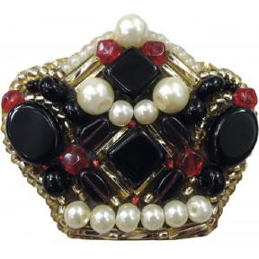 """Набор для изготовления броши Crystal Art """"Императрица"""" БП-193"""
