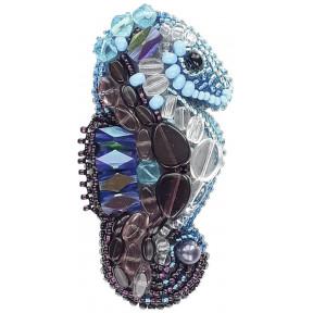 """Набор для изготовления броши Crystal Art """"Морской конёк"""" БП-198"""