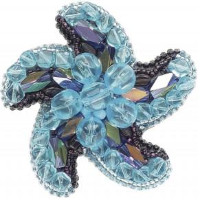 """Набор для изготовления броши Crystal Art """"Звезда морей"""" БП-199"""
