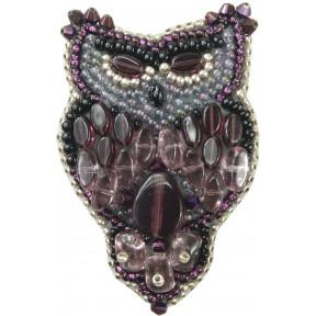 """Набор для изготовления броши Crystal Art """"Сова"""" БП-209"""