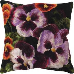 Набор для вышивки подушки Чарівна Мить РТ-161 Цветочное поле