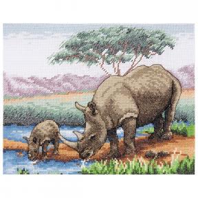 Набор для вышивания Anchor Rhinos PCE966