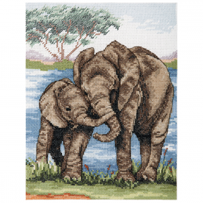 Набор для вышивания Anchor Elephants PCE963