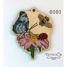 Набор для вышивки крестом на деревянной основе ФрузелОк