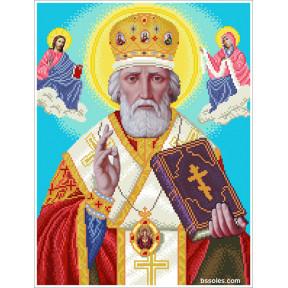 Набор Для Вышивания Бисером БС Солес Святой Николай СМ фото