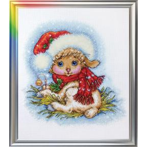Набор для вышивания ЛанСвіт Рождественская овечка  Д-052