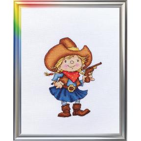 Набор для вышивания ЛанСвіт Помощница шерифа Д-035