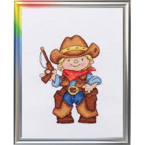 Набор для вышивания ЛанСвіт Храбрый шериф Д-034