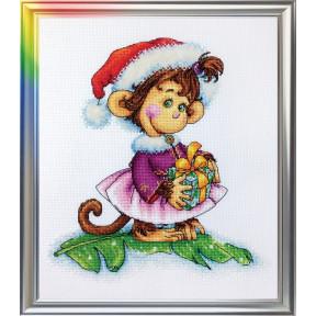 Набор для вышивания ЛанСвіт  Кокетливая обезьянка Д-053
