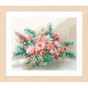 """Набор для вышивания Lanarte  Bouquet of flowers """"Букет цветов"""" PN-0169794"""