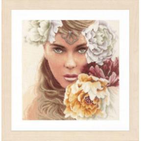 """Набор для вышивания Lanarte Enchanting eyes """"Очаровательные глаза"""" PN-0171826"""
