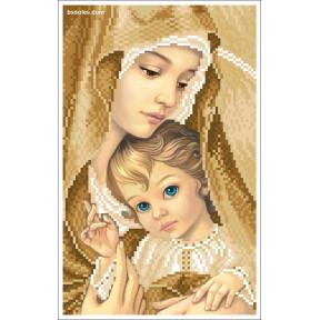 """Набор для вышивания бисером БС Солес """"Мадонна с ребенком"""""""