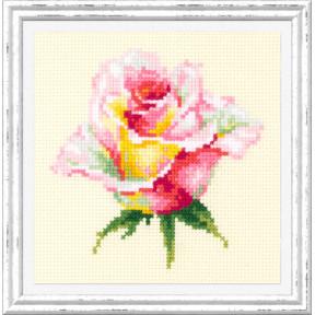 """Набор для вышивки крестом Чудесная игла """"Нежная роза"""" 150-004"""