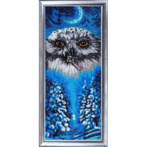 Набор для вышивания бисером Butterfly 541 Совушка-зима