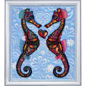 Набор для вышивания бисером Butterfly 647 Морские коньки