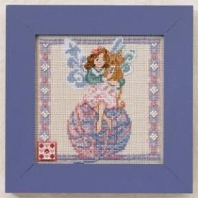Набор для вышивания Mill Hill Yarn Fairy  JS301101