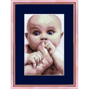Набор для вышивки  крестом Чарівна Мить Малыш 320