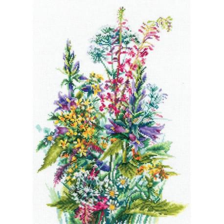 Набор для вышивки Сделай Своими Руками Полевые цветы П-50 купить в интернет-магазине Муркины рукоделки