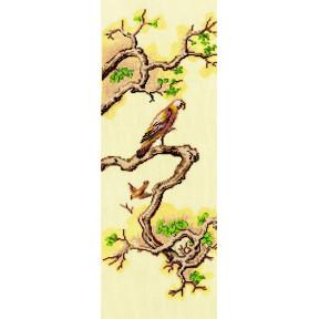 Набор для вышивки Сделай Своими Руками Китайские мотивы-Сокол К-34