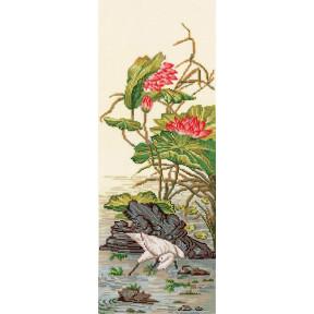 Набор для вышивки Сделай Своими Руками Китайские мотивы-Цапля К-35