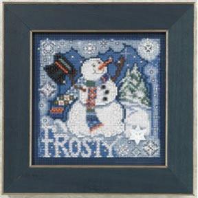 Набор для вышивания Mill Hill MH140304 Frosty Snowman