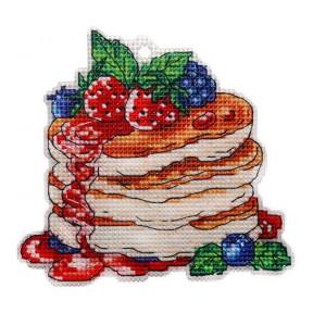 Набор для вышивки крестом Alisena Пирожное – Лесные ягоды 8010