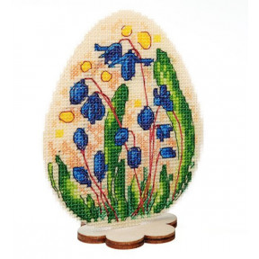 Набор для вышивки крестом Alisena Пасхальная – Пролеска 8009
