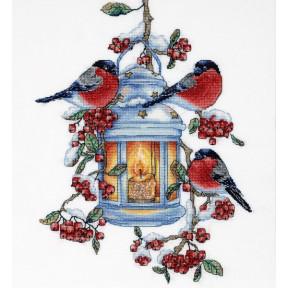 Набор для вышивки крестом Alisena 1274а Ботанический батл – Вишня