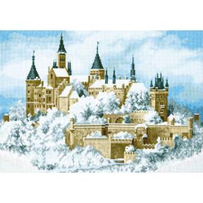 Набор для вышивки  крестом Чарівна Мить Замок в облаках М-371