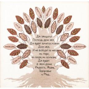 Набор для вышивки  крестом Чарівна Мить Дерево благословение М-378