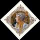 Набор для вышивания крестом Мережка Полет зимородка К-136