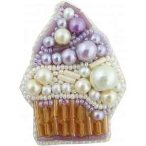 """Набор для изготовления броши Crystal Art """"Пирожное"""" БП-234"""