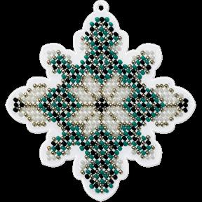 Набор для вышивания бисером на пластиковой основе Волшебная страна FLPL-017