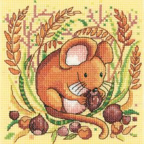 Набор для вышивания крестом Heritage Crafts Mouse  H1332