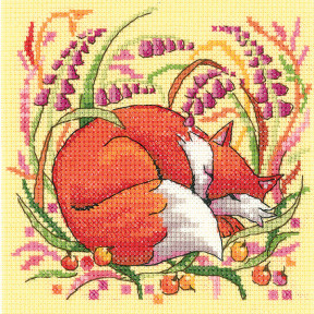 Набор для вышивания крестом Heritage Crafts Fox H1333