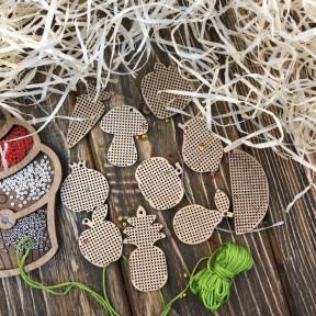 ЕНабор заготовок для вышивания по дереву Волшебная страна FLSW-002