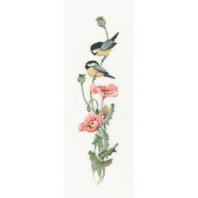Набор для вышивания крестом Heritage Crafts Serenade in Pink H542