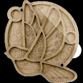 Органайзер для бисера с крышкой  Волшебная страна FLZB-031