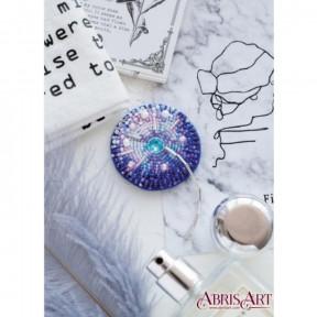 """Набор для вышивки бисером украшения на натуральном художественном холсте Абрис Арт """"Одуванчик"""" AD-064"""