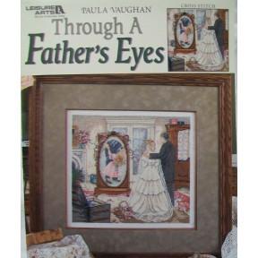 """Схема для вышивания """"Through a Father's Eyes"""" by Paula Vaughan"""