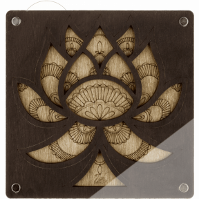 Органайзер для бисера с крышкой  Волшебная страна FLZB-043