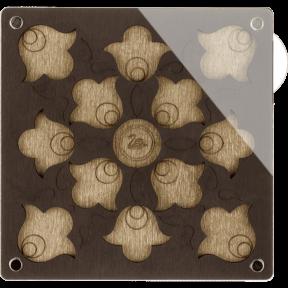 Органайзер для бисера с крышкой  Волшебная страна FLZB-044