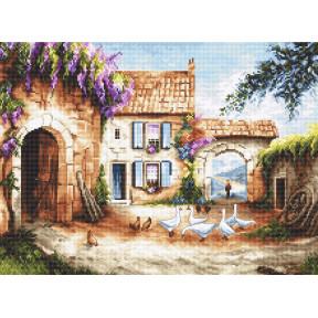Набор для вышивания LETISTITCH Village LETI 902